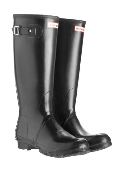Original Refined Black Gloss Tall Wellington Boots - Black Hunter Websites Buy Cheap Deals Best Prices Cheap Price Top Quality Online JWHIBc