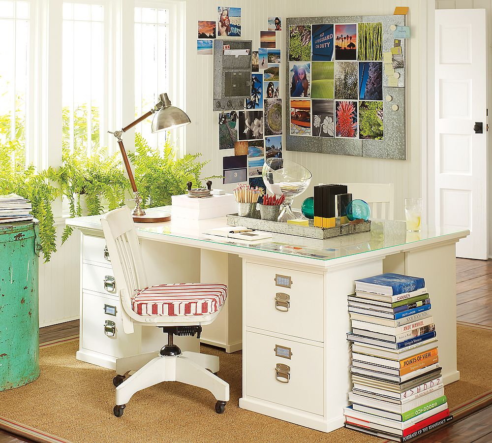 The financialite archive home office organization with - Organized office desk ...